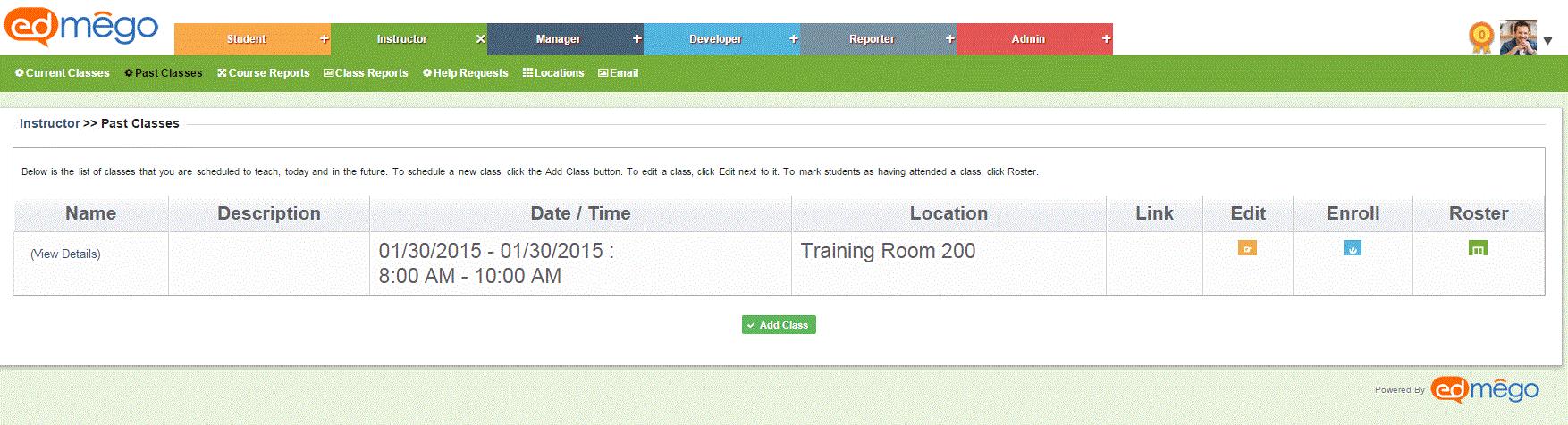 Manage Instructor-Led Training