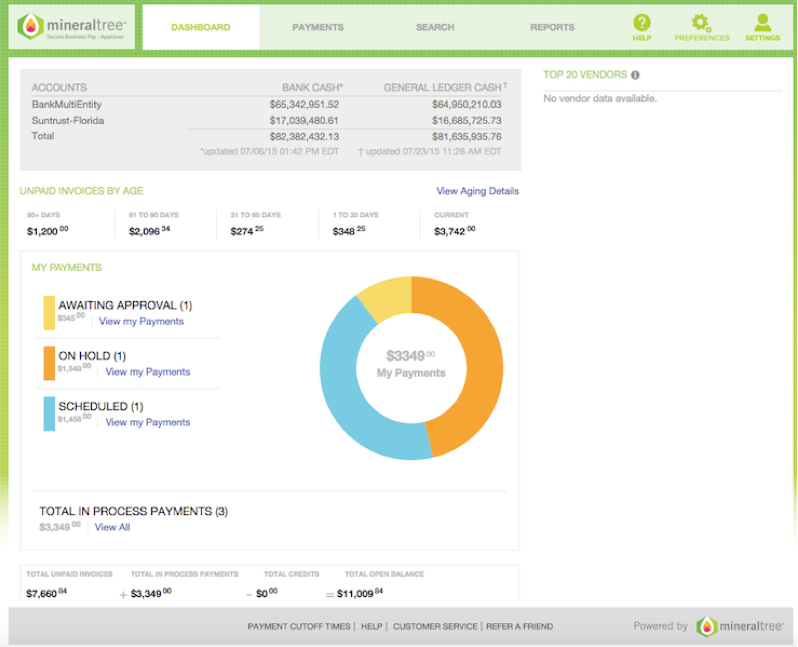 Payment Approval Dashboard