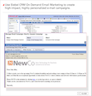 Oracle CRM On Demand - Send Highly Personalized Email Campaigns
