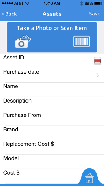 Mobile add asset