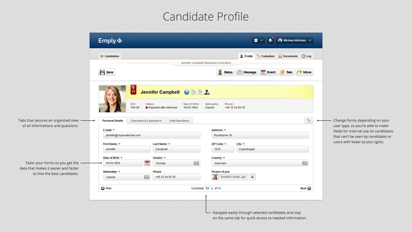 Candidate Profile