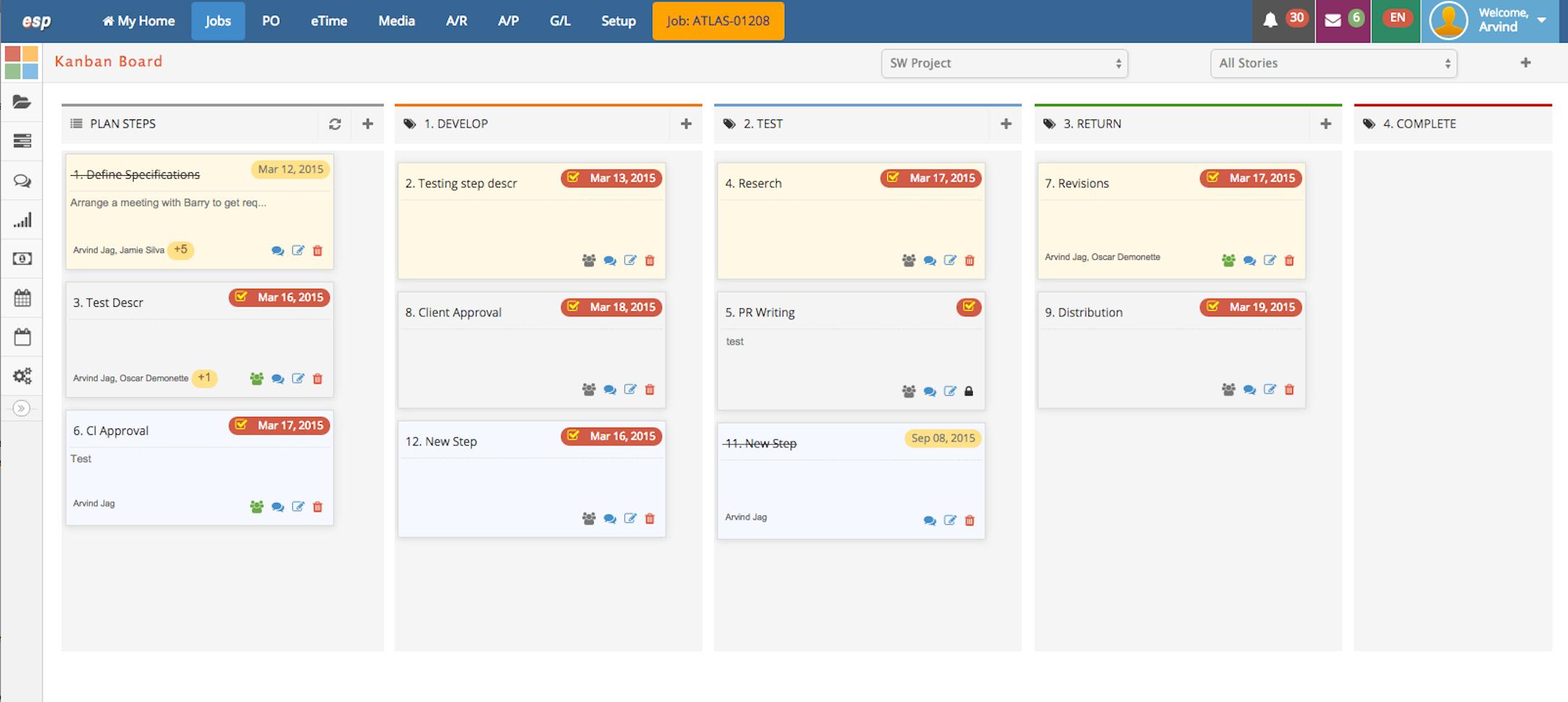 Project Management Kanban Boards