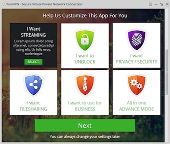 Customize app
