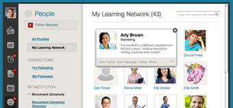 My learning network