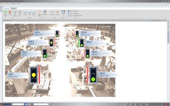 Machine Production Status Screen