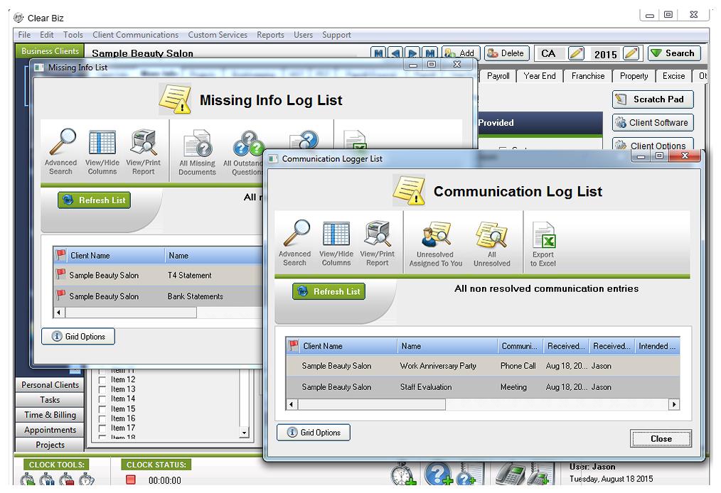 Communication logger