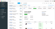 Zoho Inventory - Sales order