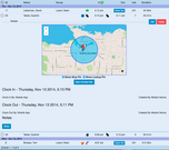 GPS Location Tracking of Time Events