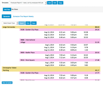 Customizable Reports in Real-time or Scheduled