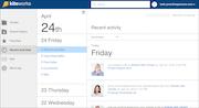 Activity Stream of upcoming tasks
