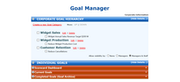 Goal manager