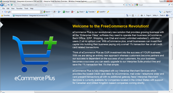 e-Commerce Plus