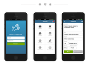 Twproject - Mobile interface