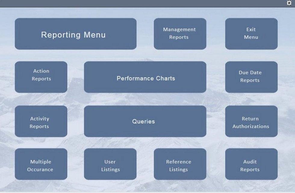 Report menu