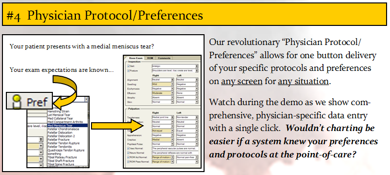 Physician Protocol/Preferences