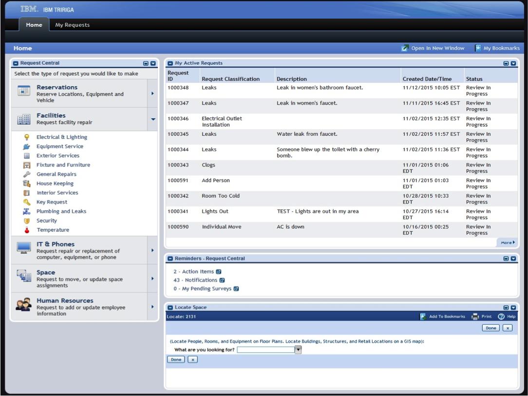 IBM TRIRIGA - Home page