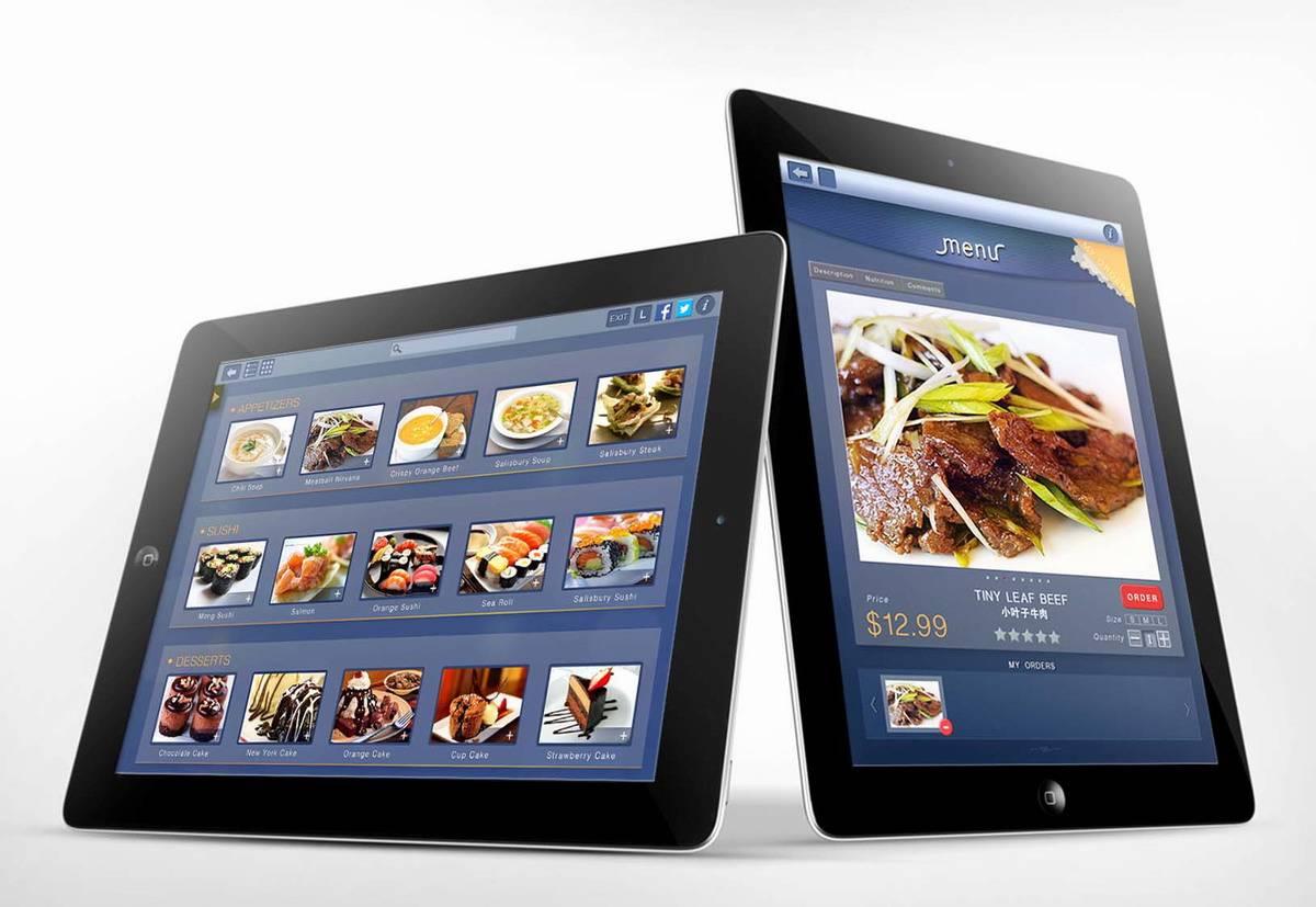 iPad view