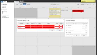 Interactive scheduler