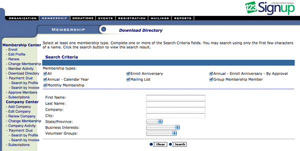 Directory download