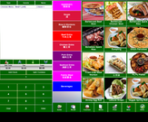 Food ordering screen