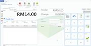 Grassland POS Express - Sales screen
