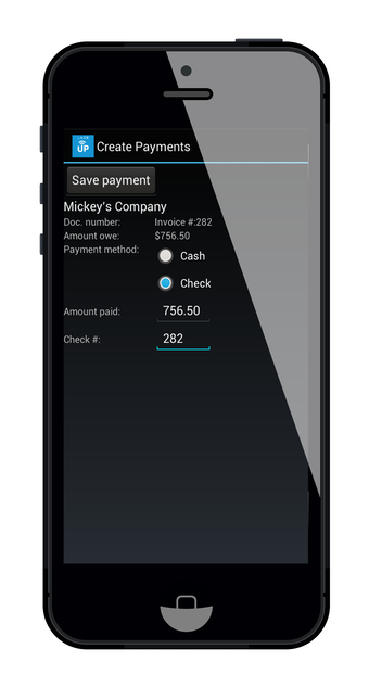 Create payments