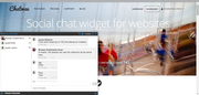 Chatwee Social Chat Widget - Chat users