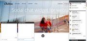 Chatwee Social Chat Widget - Multiple chatrooms