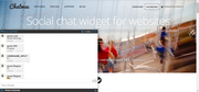 Chatwee Social Chat Widget - Larger chatroom