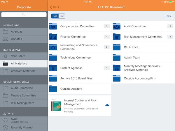 ARALOC - iOS app