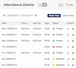 Zoho People - Attendance
