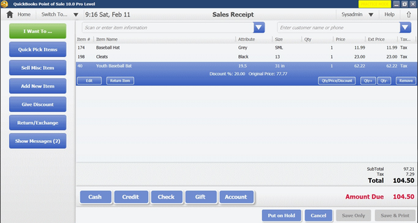 Quickbooks POS Software - 2019 Reviews, Pricing & Demo