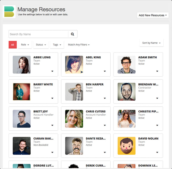 Manage resources