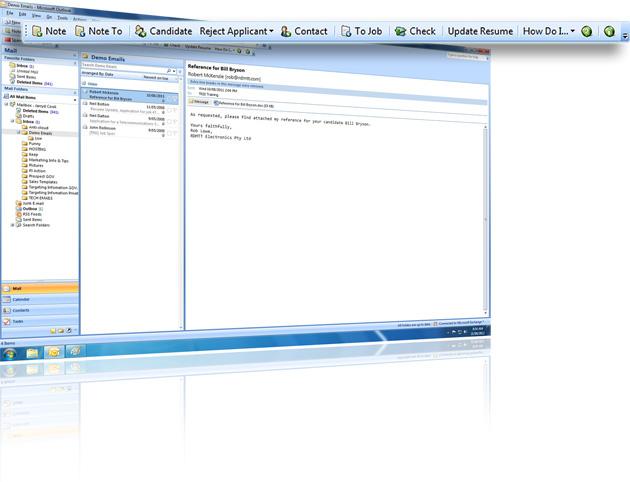Outlook integration