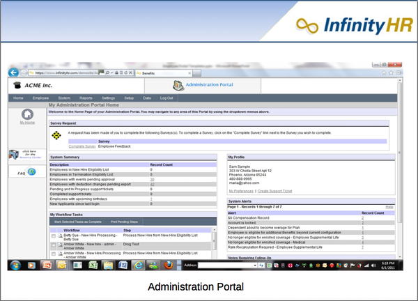 Administration Portal