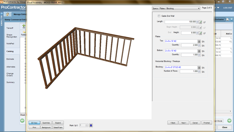 3D assembly
