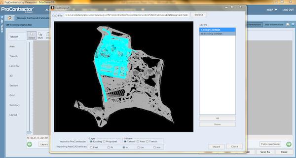 CAD import