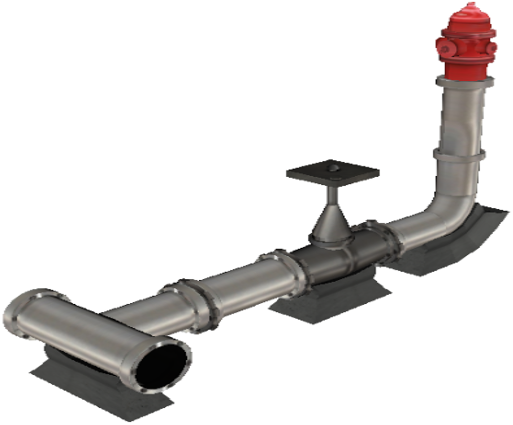 3D assembly hydrant
