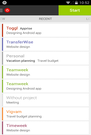 Toggl Android app
