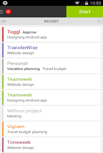 Android app