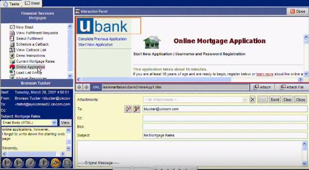 Unified agent desktop