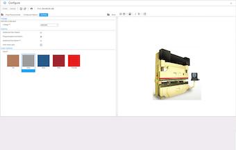 Configure screen