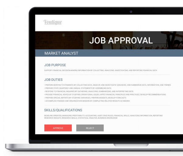 Job approval