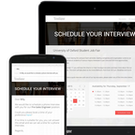 Interview scheduling