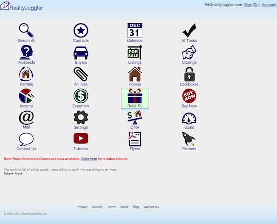 RealtyJuggler - Main page