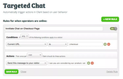 Olark targeted chat screenshot