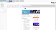 CallidusCloud Marketing Automation - Email editor
