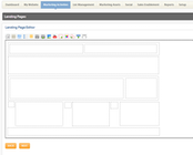 CallidusCloud Marketing Automation - Landing page editor