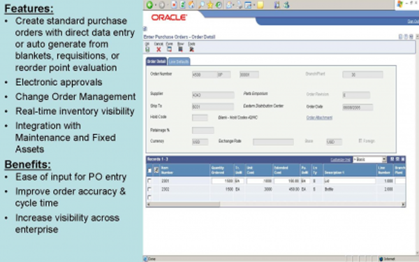 Oracle JD Edwards EnterpriseOne Software - 2019 Reviews