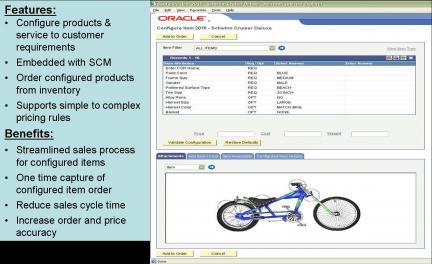 Configure an Item Screen